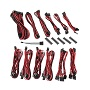 Bitfenix Black & Red Alchemy 2.0 CSR Modular Cable Kit For Corsair PSUs