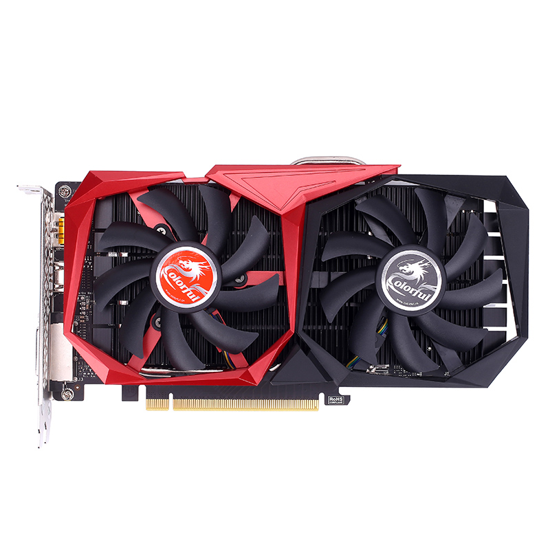 Colorful GeForce GTX1050Ti NB 4G Graphics Card [212327100823]