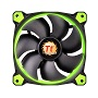 Thermaltake 140mm Riing 14 Green LED 1400RPM Fan