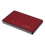 "Orico Red 2588US3 2.5"" USB3 External Hard Drive Enclosure"