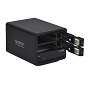 "Orico Black Dual Bay 3.5"" USB3 External Hard Drive Enclosure"